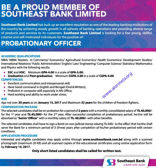 Southeast Bank Job