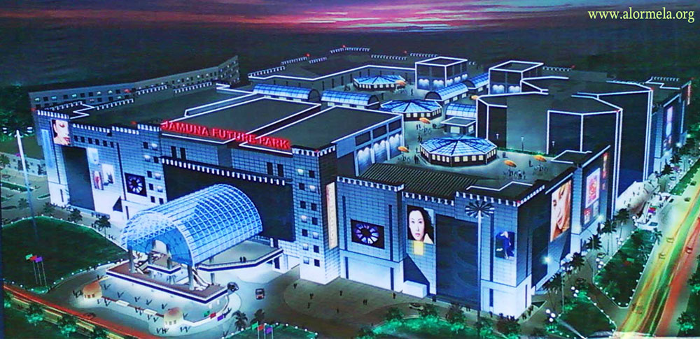 jamuna future park largest shopping mall