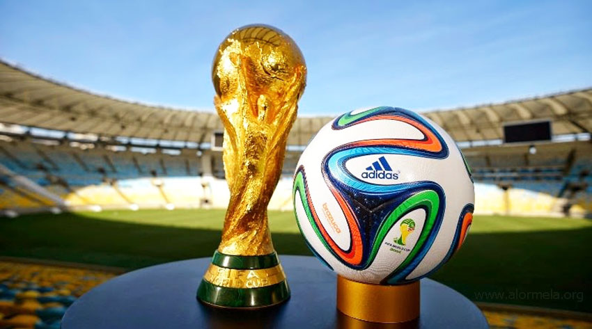 World cup trophy