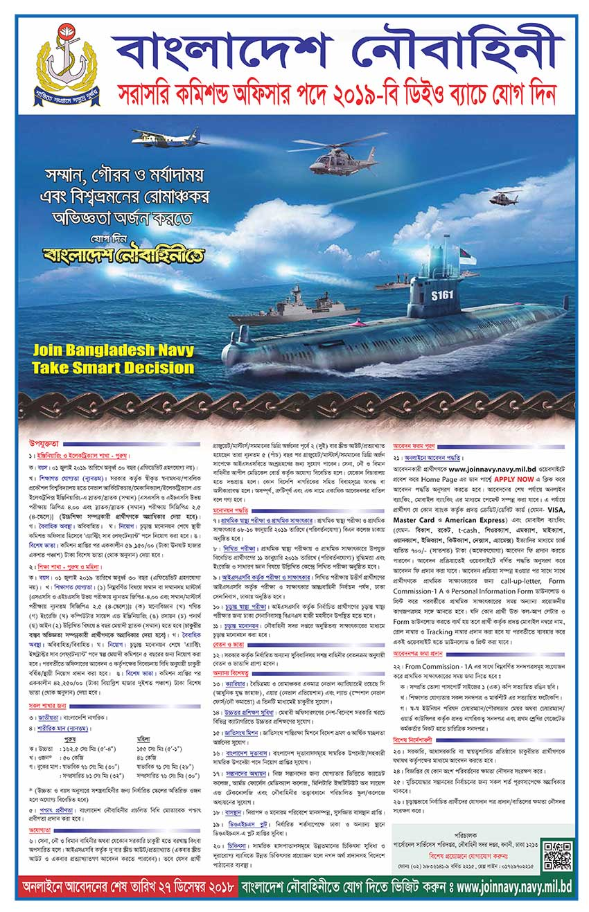 Navy commissioned Officer Job DEO Batch