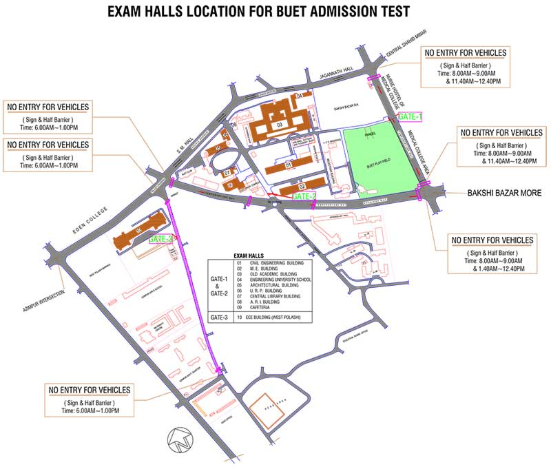 BUET Exam Hall